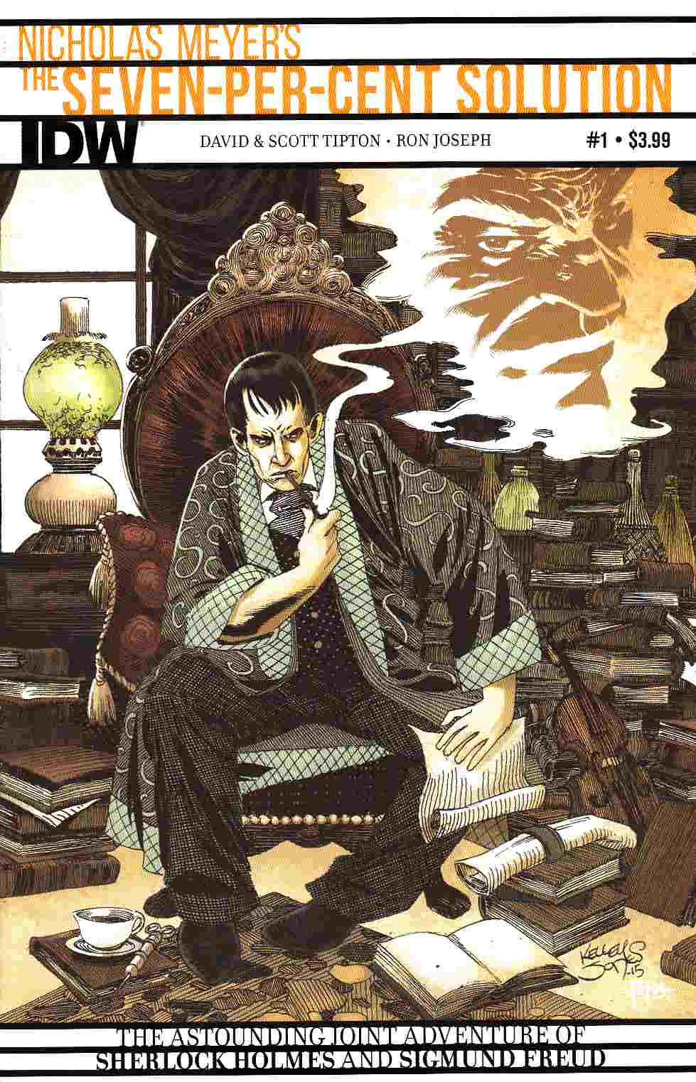 Sherlock Holmes 7 Per-Cent Solution #1 [IDW Comic] LARGE