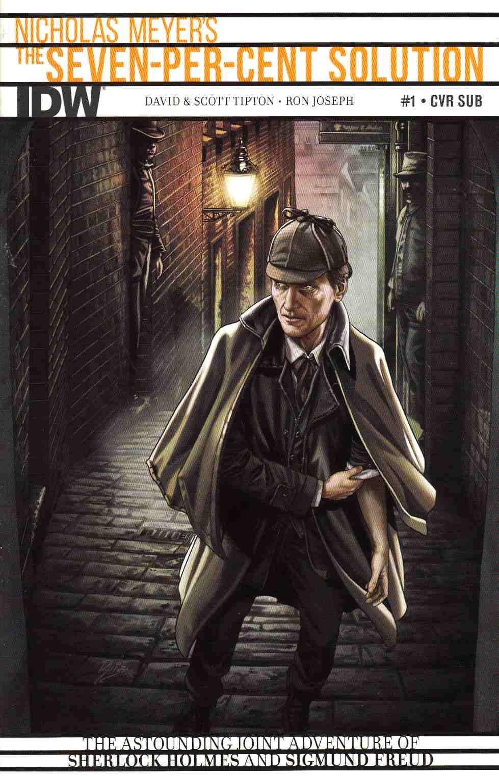 Sherlock Holmes 7 Per-Cent Solution #1 Subscription Cover [IDW Comic] THUMBNAIL