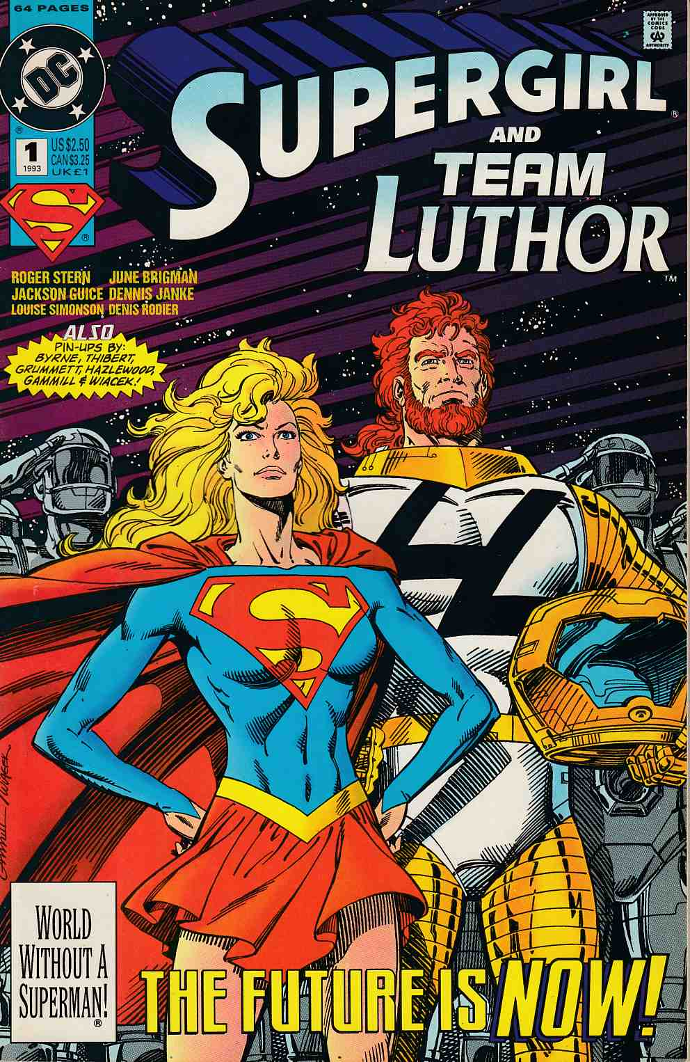 Supergirl Lex Luthor Special #1 Near Mint MInus (9.2) [DC Comic] THUMBNAIL
