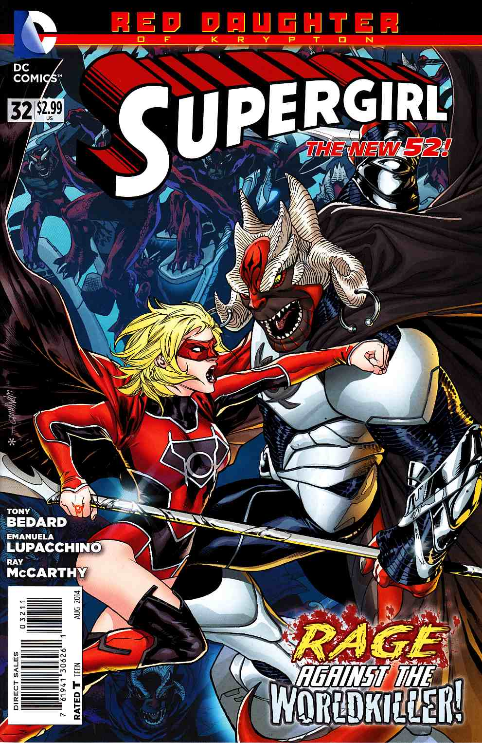 Supergirl #32 [DC Comic] LARGE