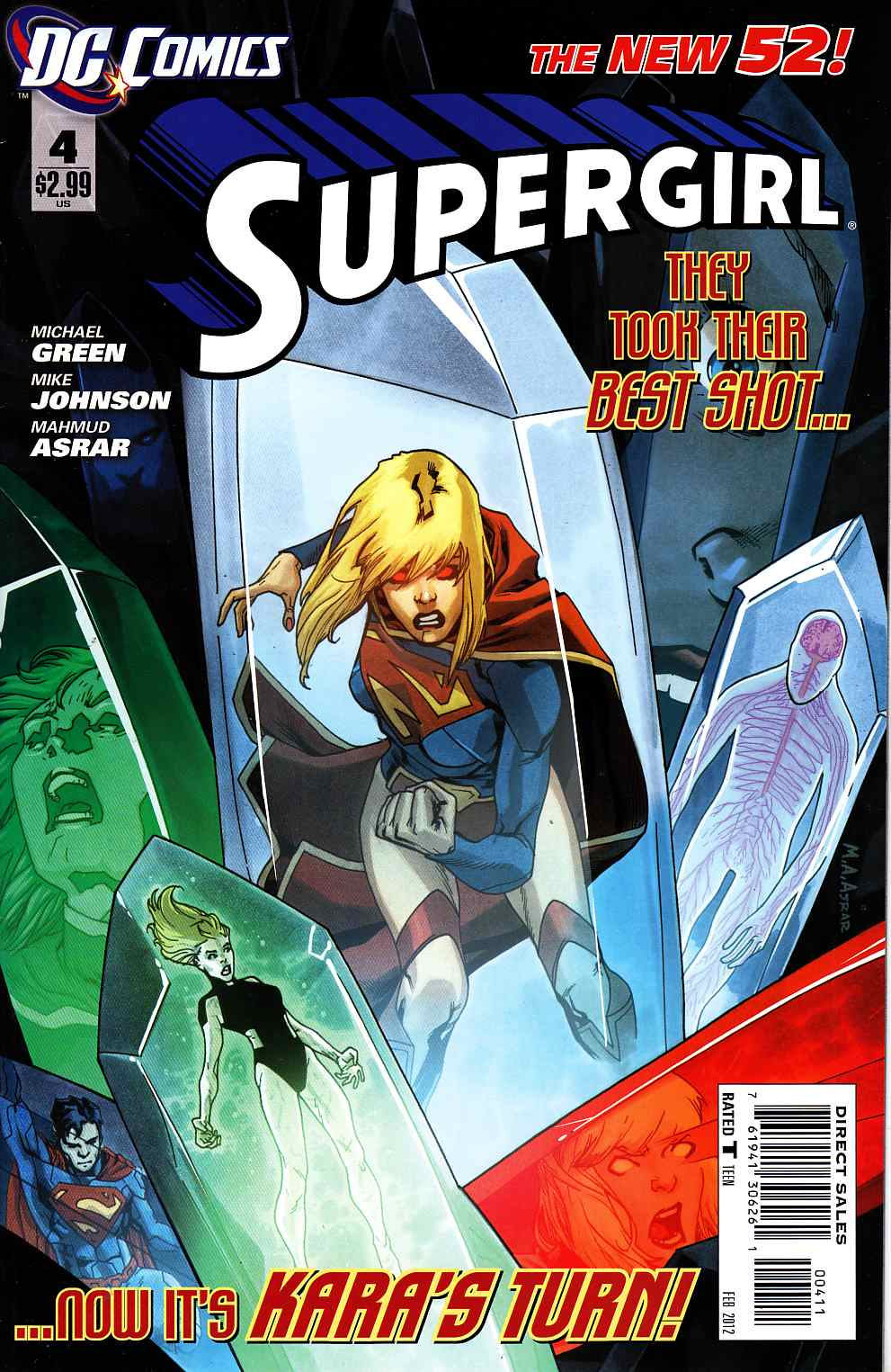 Supergirl #4 [DC Comic] LARGE