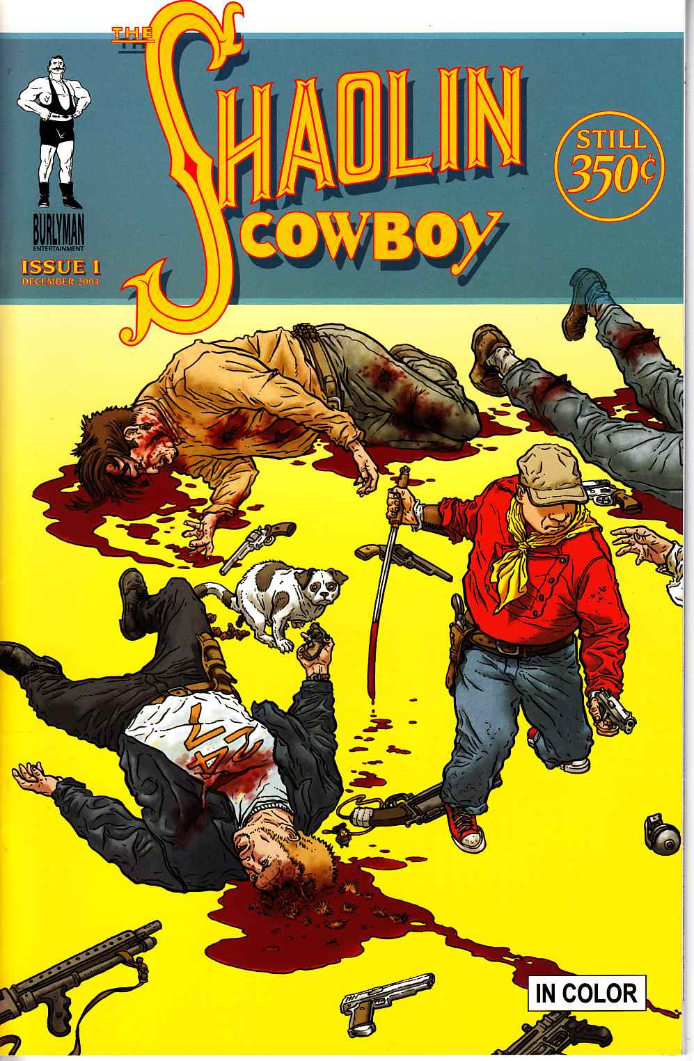 Shaolin Cowboy #1 Second Printing Near Mint Minus (9.2) [Burlyman Comic] THUMBNAIL