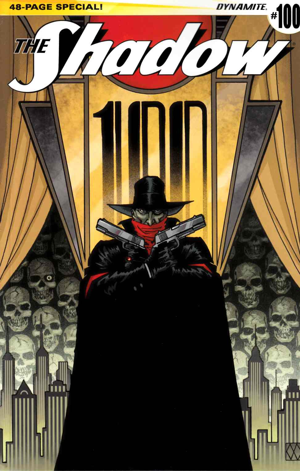 Shadow #100 Cover A- Wagner [Dynamite Comic]_THUMBNAIL