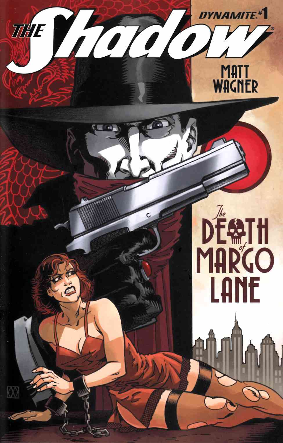 Shadow Death of Margo Lane #1 Cover A [Dynamite Comic]
