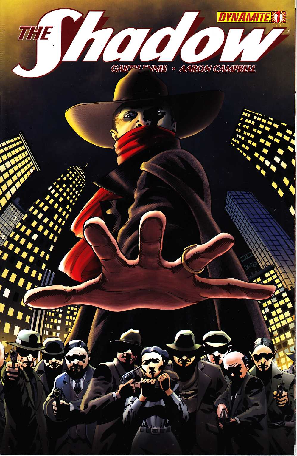Shadow #1 Cassaday Cover [Dynamite Comic] LARGE