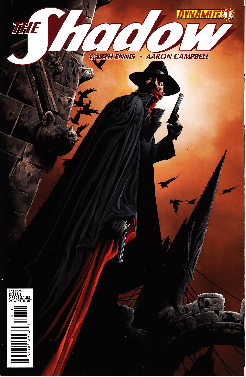 Shadow #1 Lee Cover [Dynamite Comic] THUMBNAIL