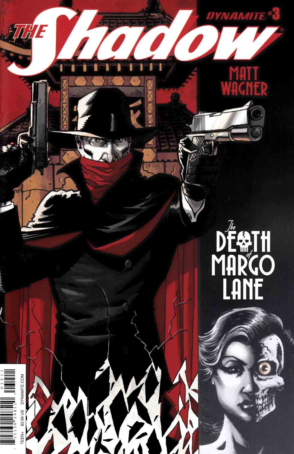 Shadow Death of Margo Lane #3 [Dynamite Comic]