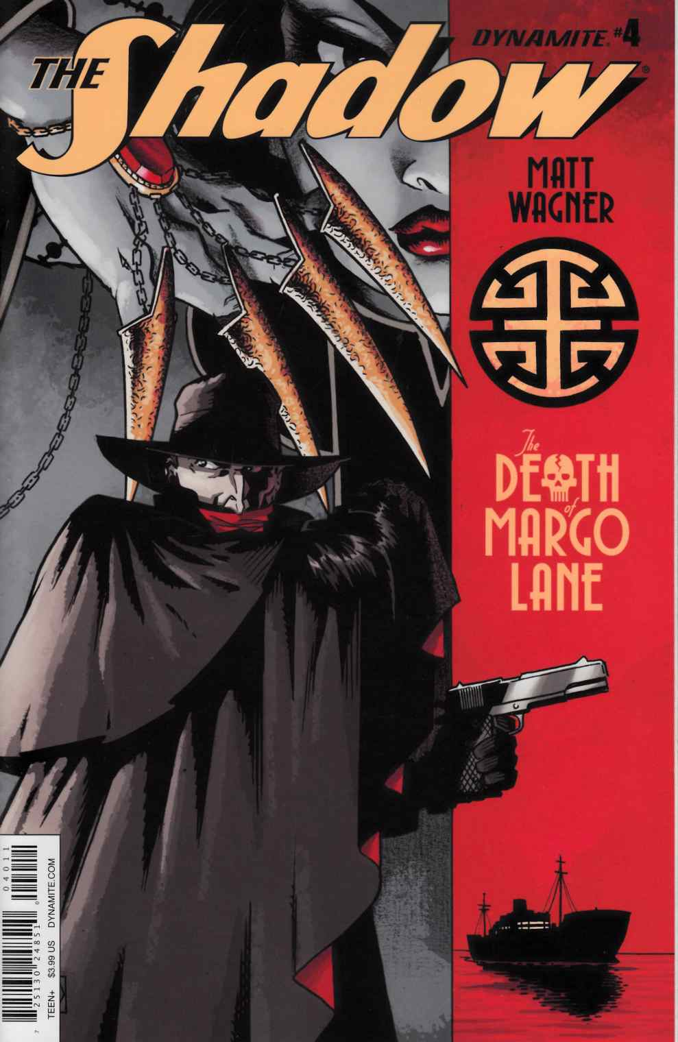Shadow Death of Margo Lane #4 [Dynamite Comic] THUMBNAIL