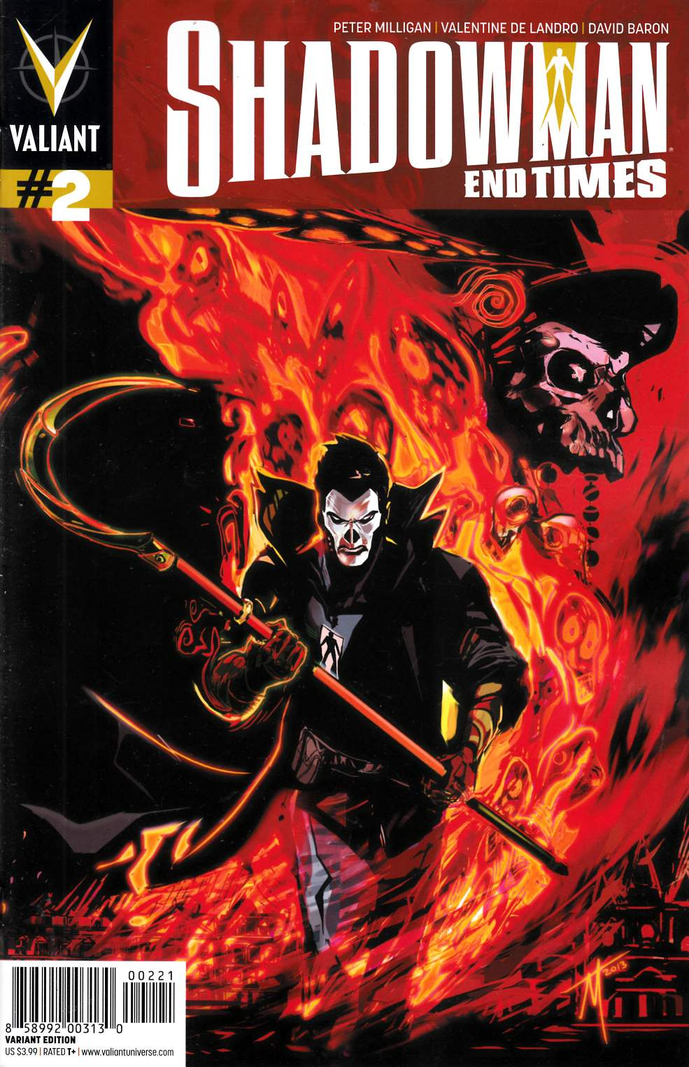 Shadowman End Times #2 Mccarthy Incentive Cover [Comic] THUMBNAIL