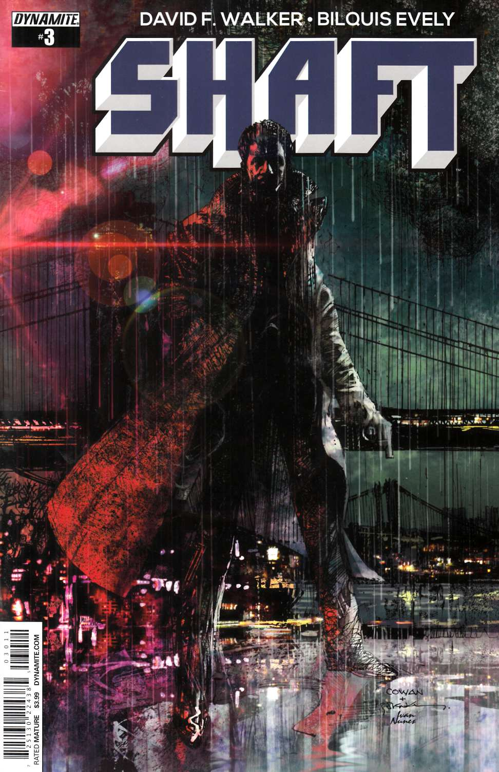 Shaft #3 Cover A- Cowan [Dynamite Comic] THUMBNAIL