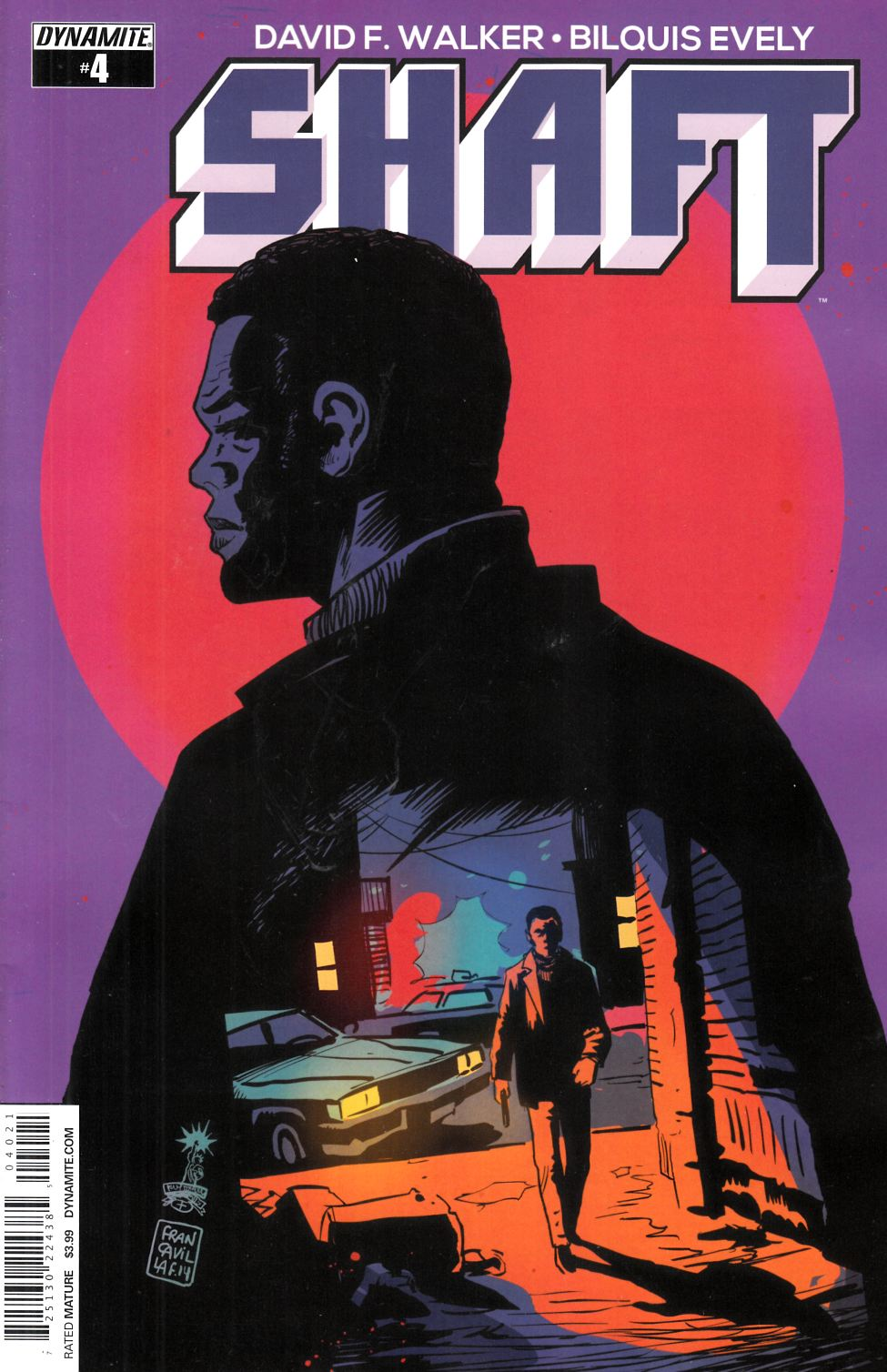 Shaft #4 Cover B- Francavilla [Dynamite Comic]