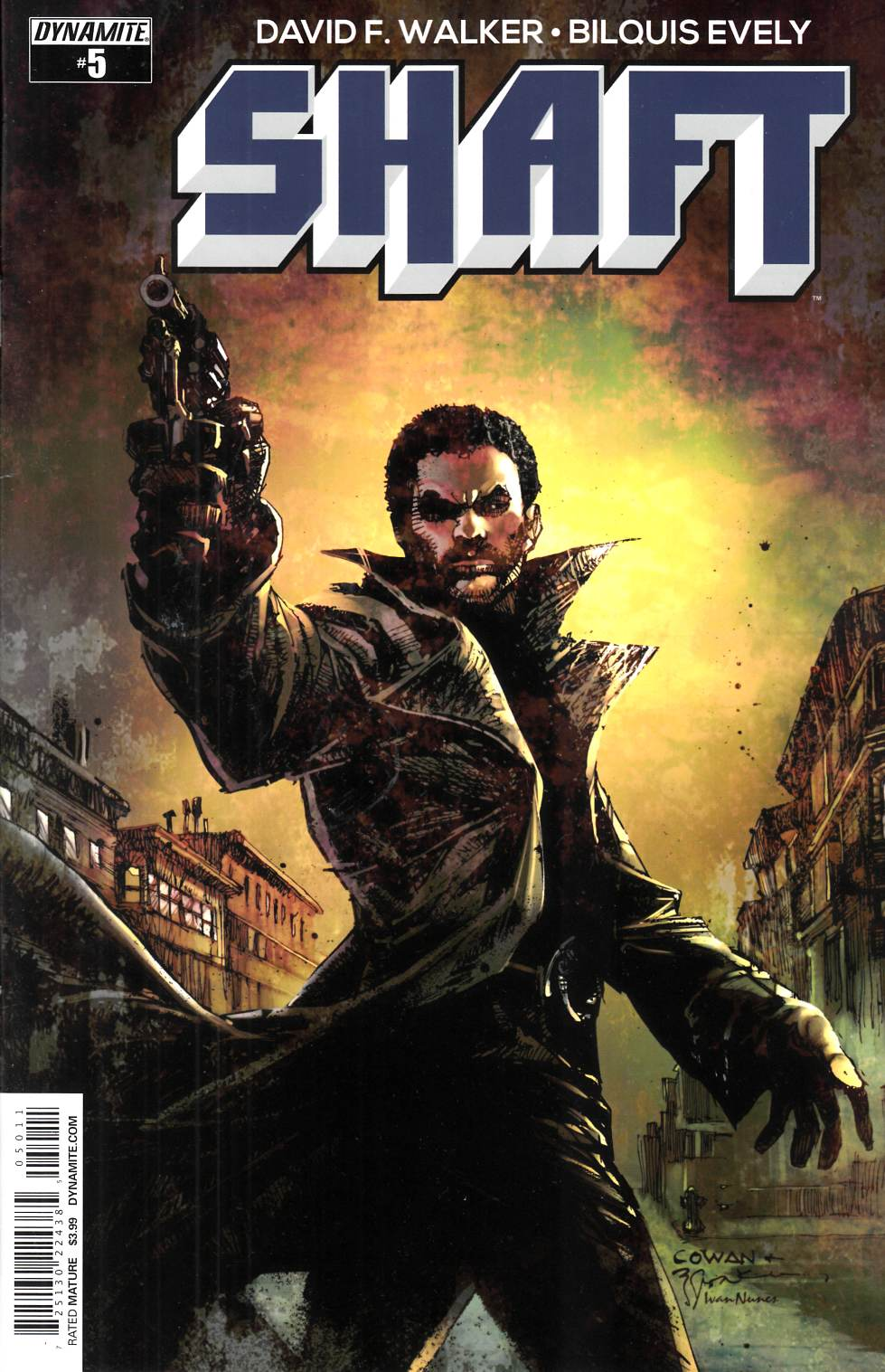 Shaft #5 Cover A- Cowan [Dynamite Comic]