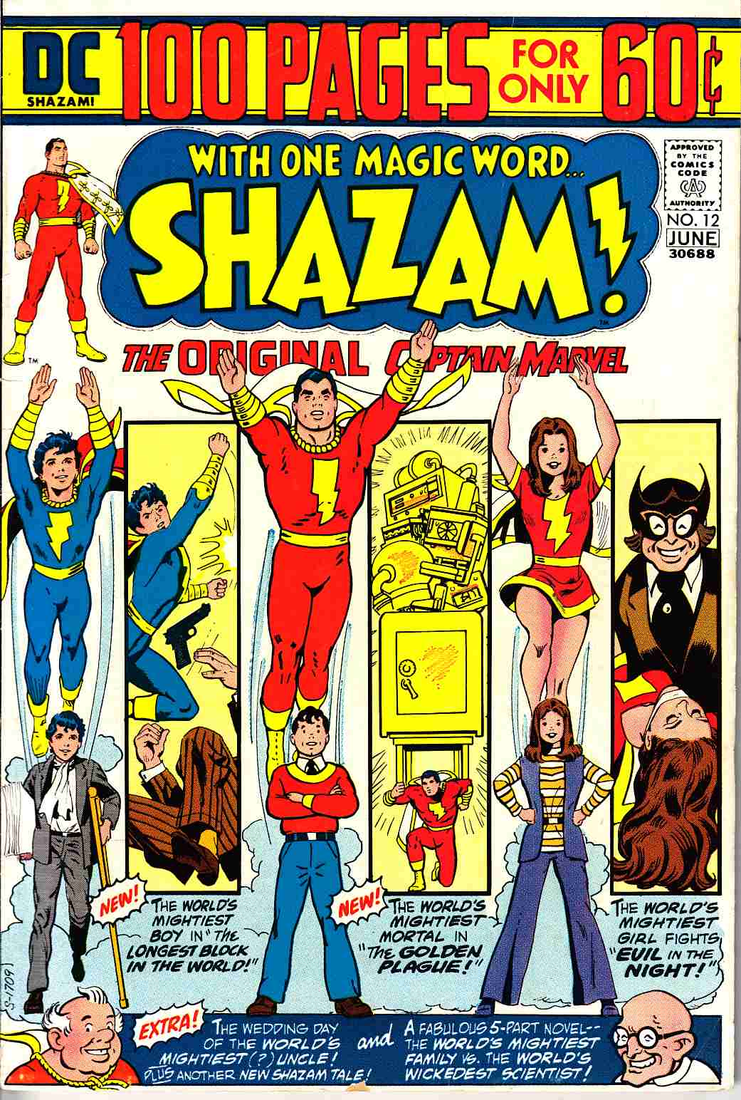 Shazam #12 Very Good Plus (4.5) [DC Comic]_THUMBNAIL