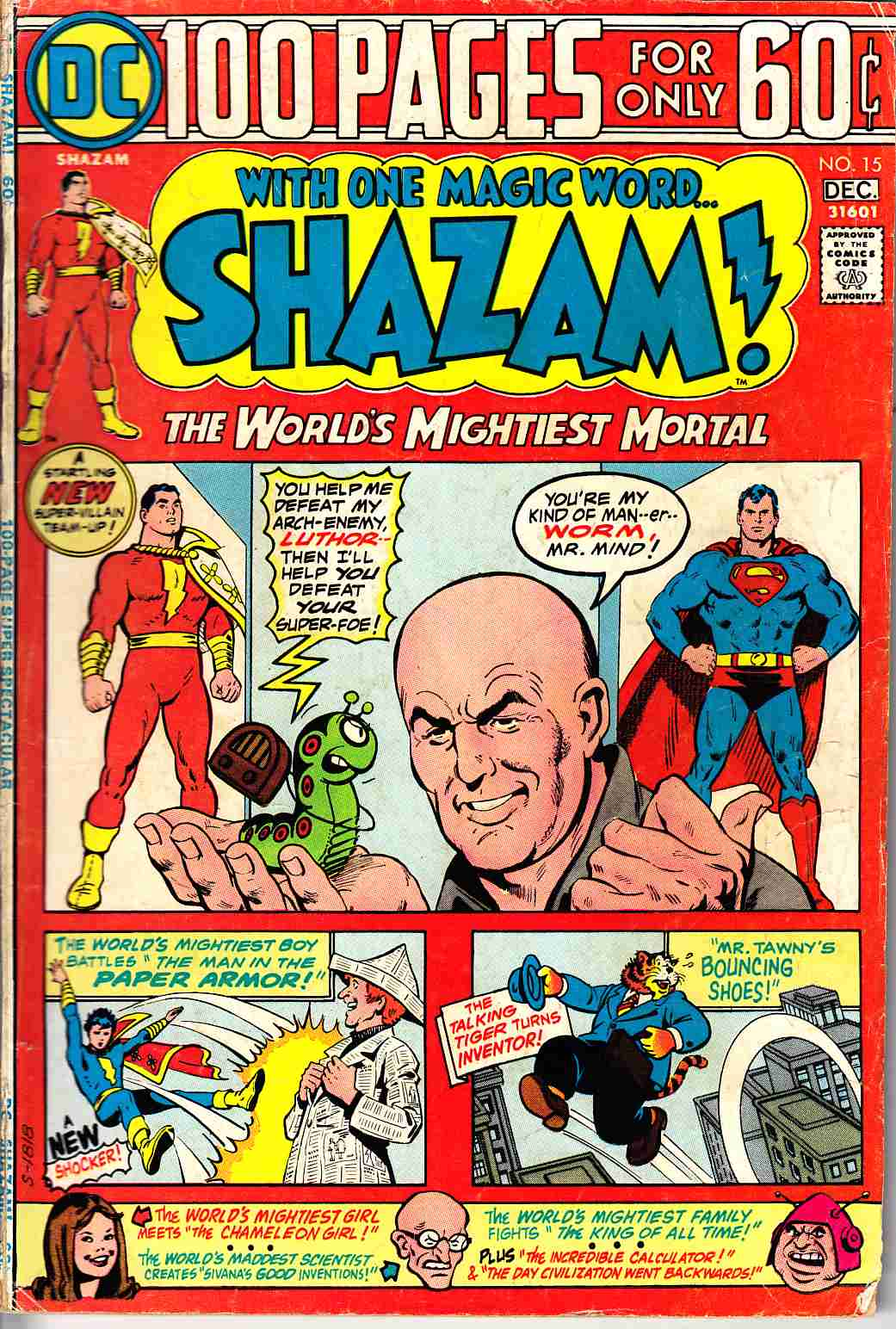 Shazam #15 Very Good Minus (3.5) [DC Comic]_THUMBNAIL