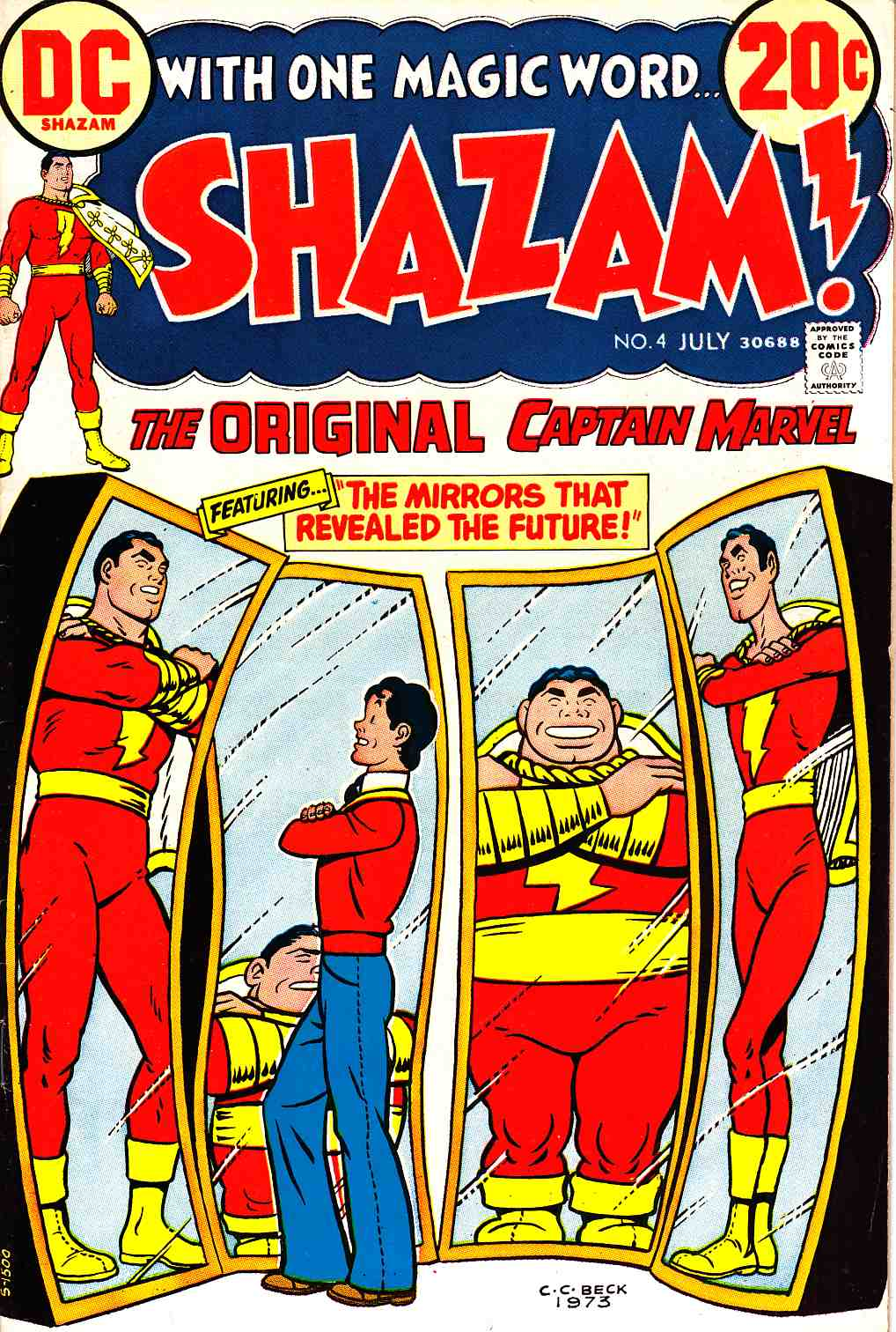 Shazam #4 Very Fine/Near Mint (9.0) [DC Comic]_THUMBNAIL