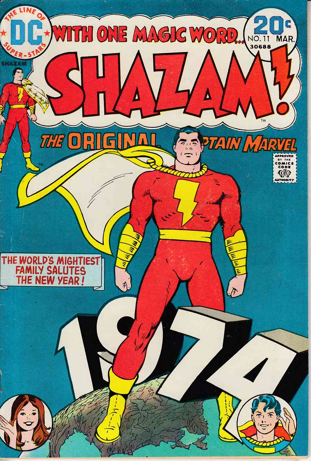 Shazam #11 Very Good (4.0) [DC Comic]_THUMBNAIL