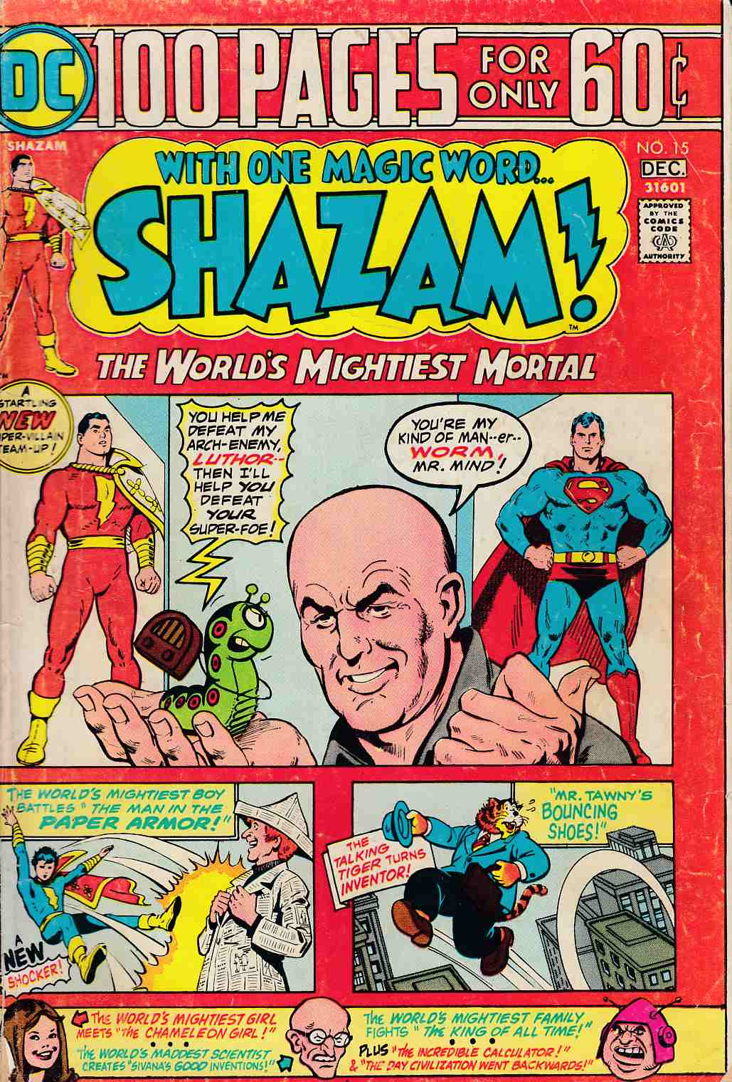 Shazam #15 Very Good Plus (4.5) [DC Comic]_THUMBNAIL
