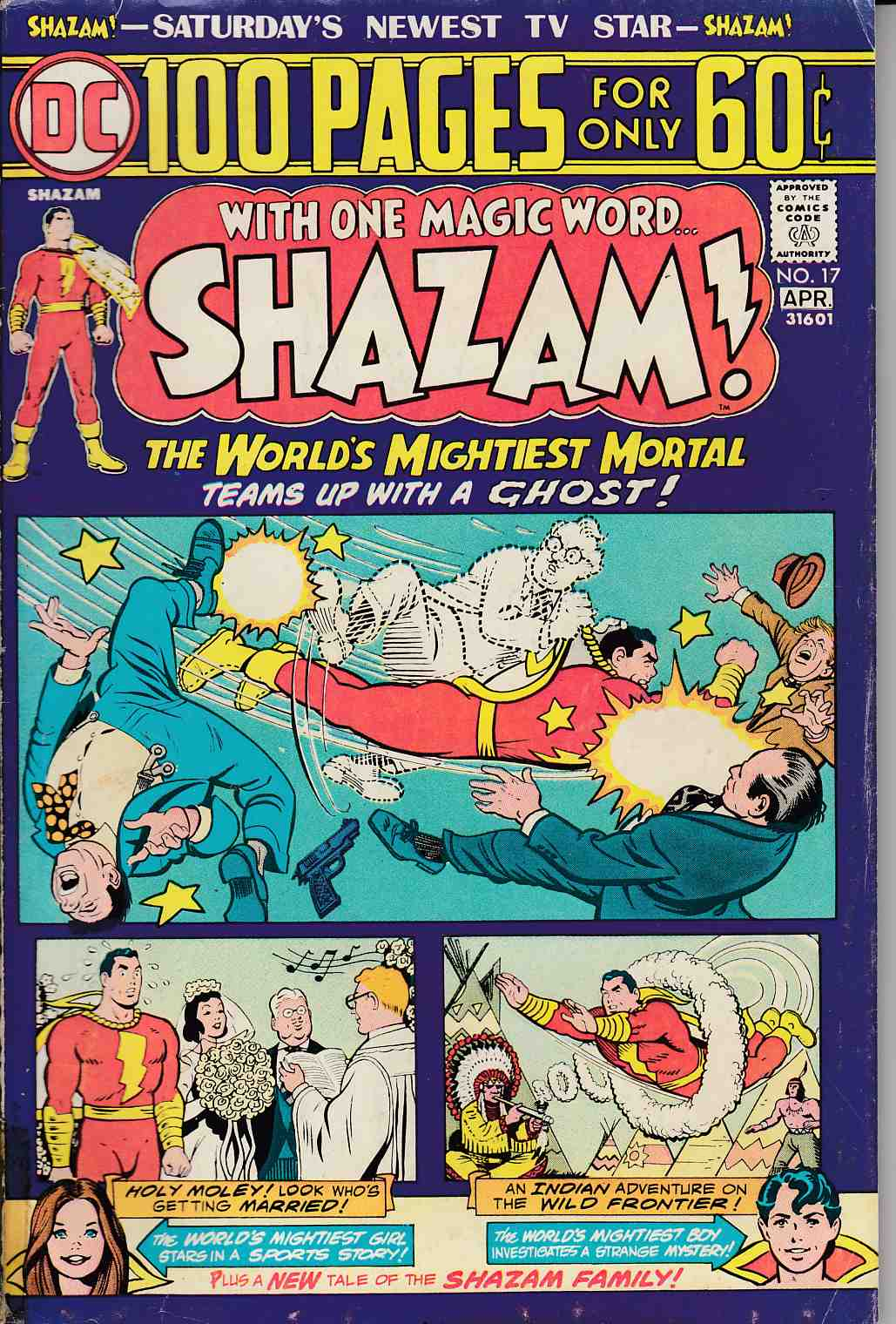 Shazam #17 Good Plus (2.5) [DC Comic]_THUMBNAIL