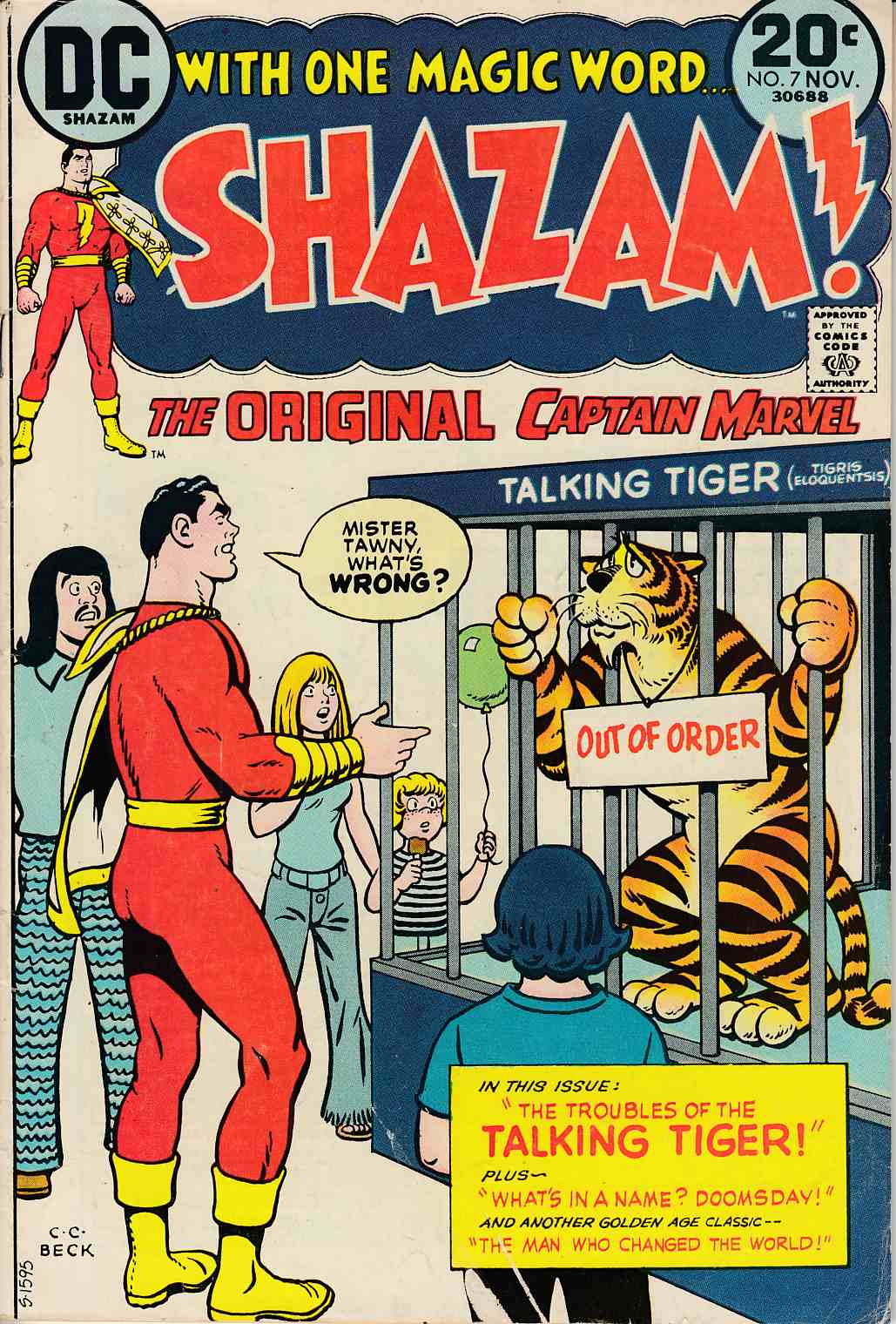 Shazam #7 Very Good (4.0) [DC Comic]_THUMBNAIL