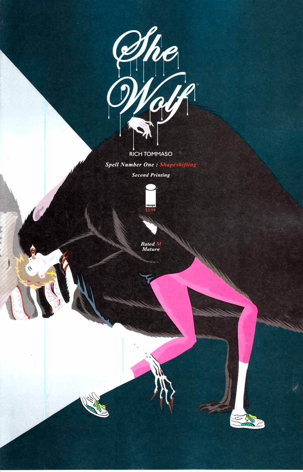 She Wolf #1 Second Printing [Image Comic] LARGE