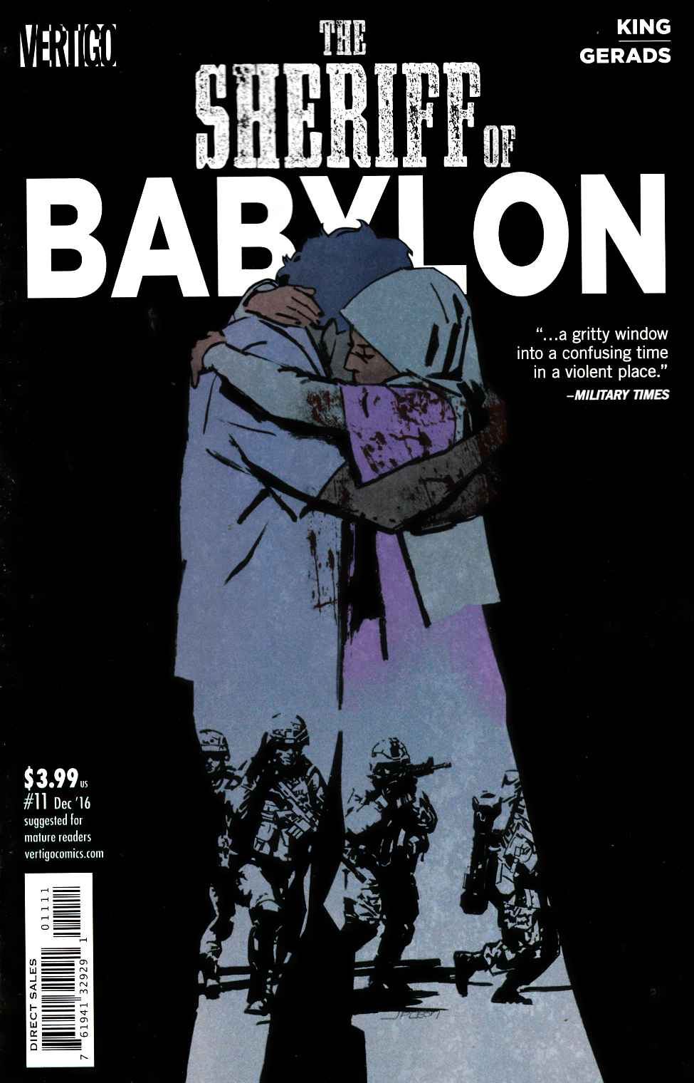 Sheriff of Babylon #11 [DC Comic] LARGE