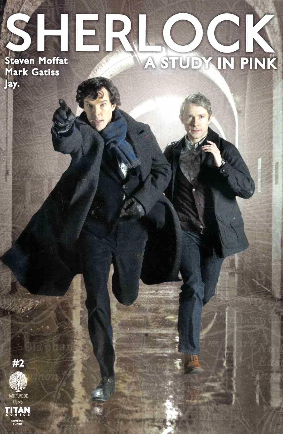 Sherlock Study In Pink #2 Cover B [Titan Comic]