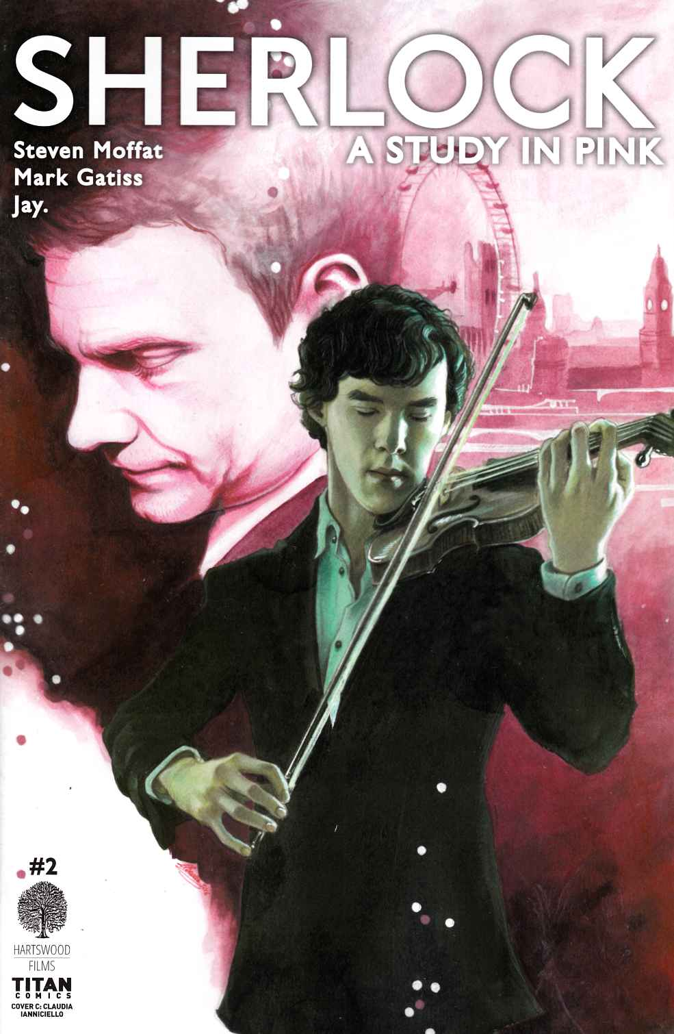 Sherlock Study In Pink #2 Cover C [Titan Comic]