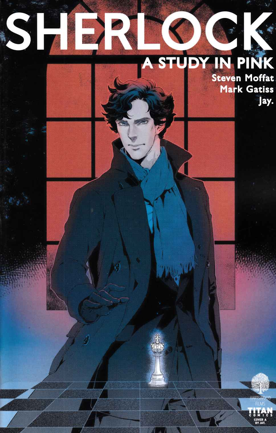 Sherlock Study In Pink #3 Cover A [Titan Comic]