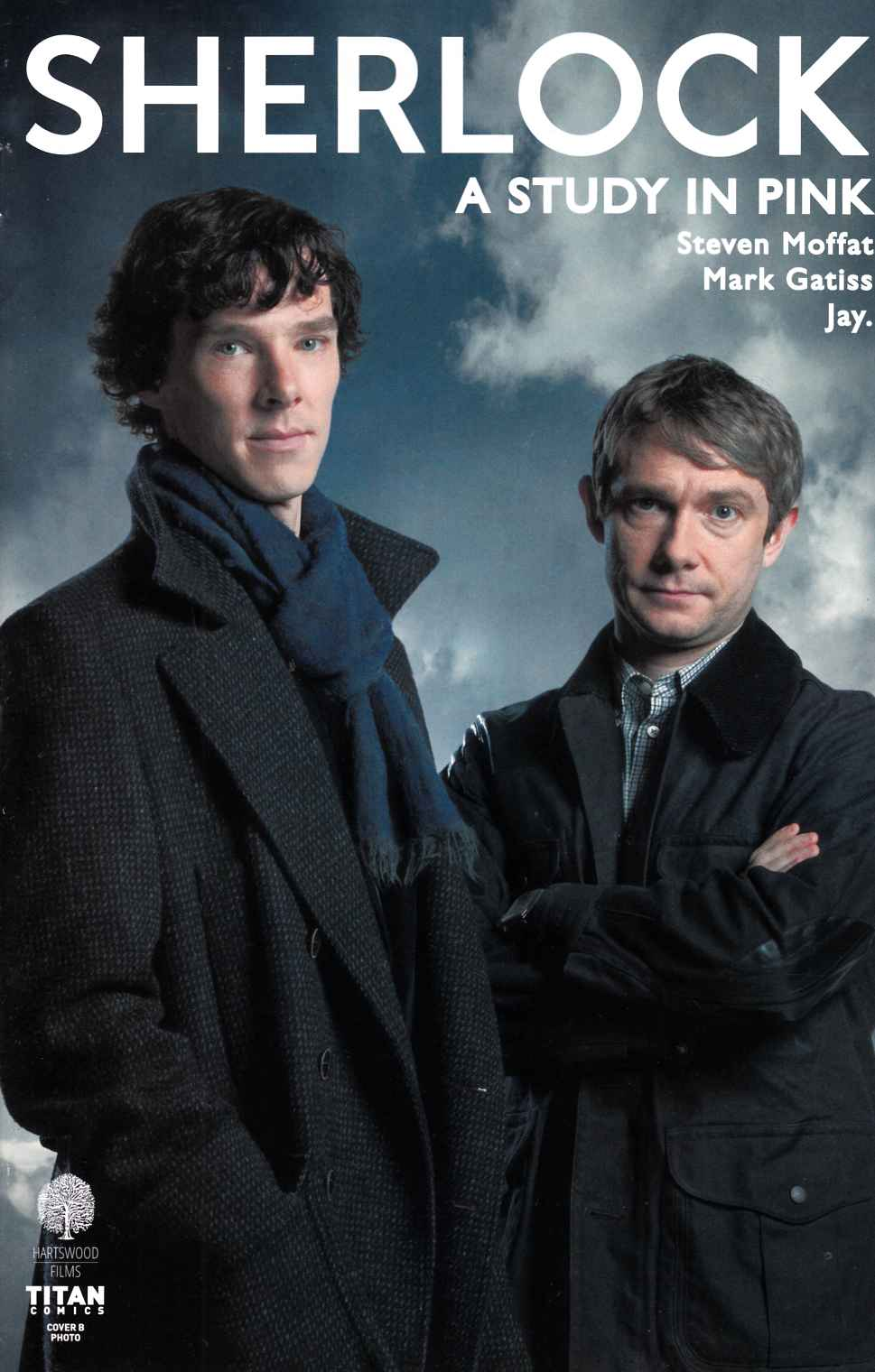 Sherlock Study In Pink #3 Cover B [Titan Comic]
