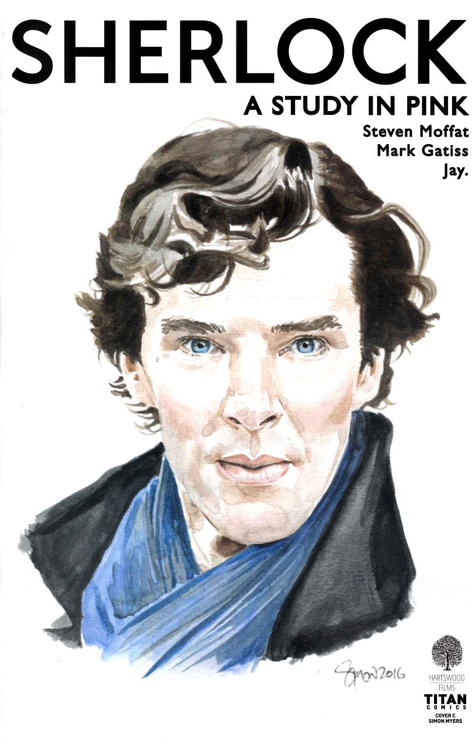 Sherlock Study In Pink #3 Cover C [Titan Comic]