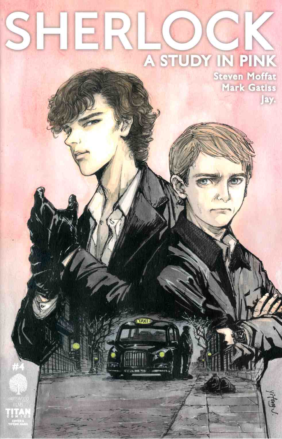 Sherlock Study in Pink #4 Cover A [Titan Comic]