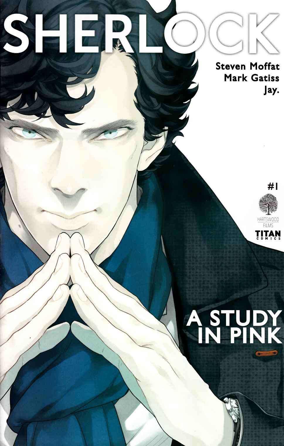 Sherlock Study In Pink #1 Cover A [Titan Comic]