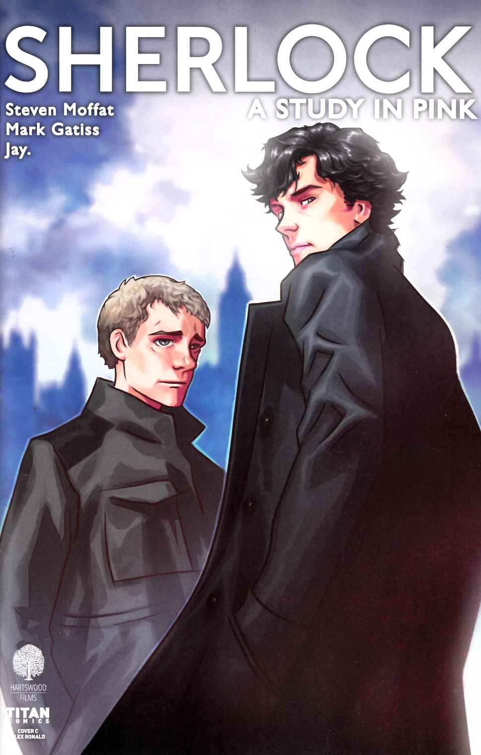 Sherlock Study In Pink #1 Cover C [Titan Comic]