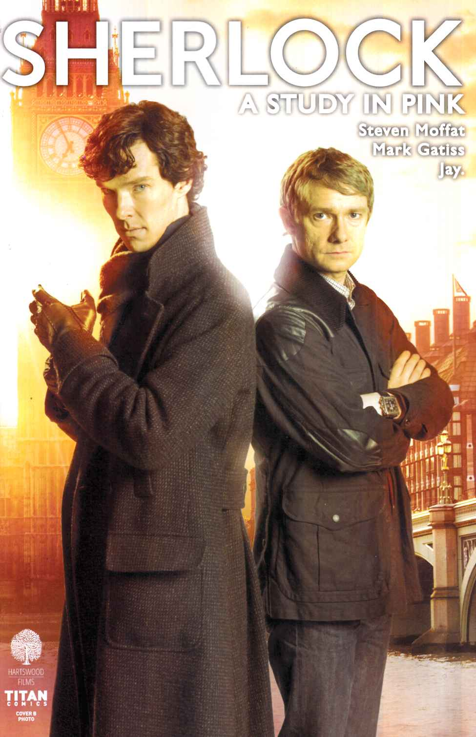 Sherlock Study In Pink #1 Cover B [Titan Comic]