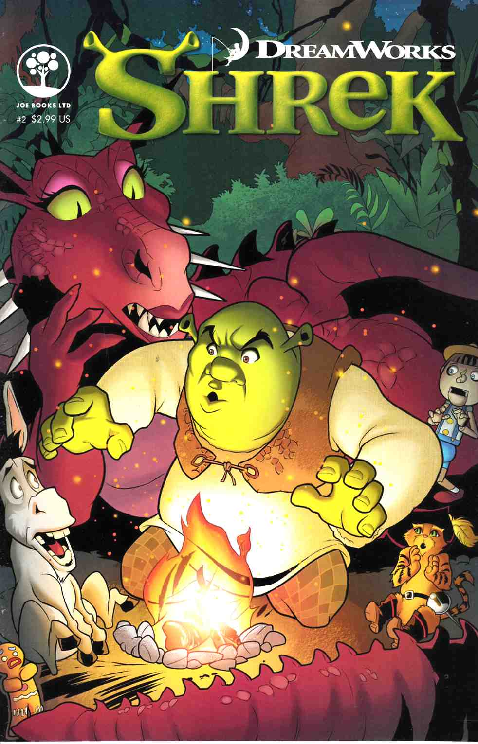 Dreamworks Shrek #2 [Joe Books Comic] LARGE