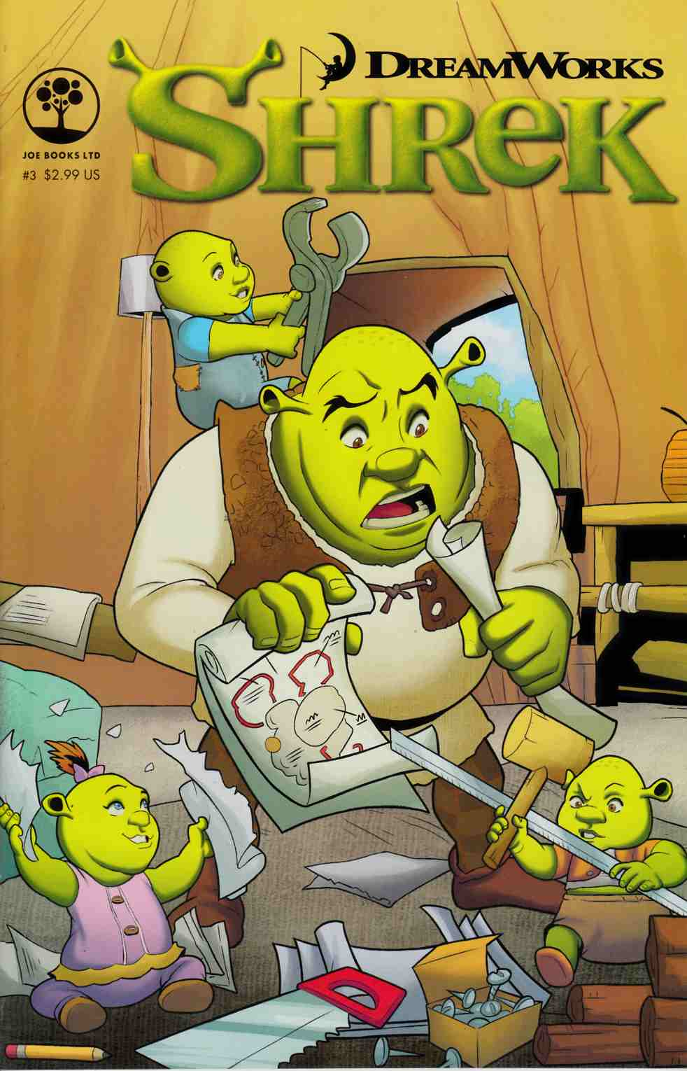 Dreamworks Shrek #3 [Joe Books Comic] LARGE