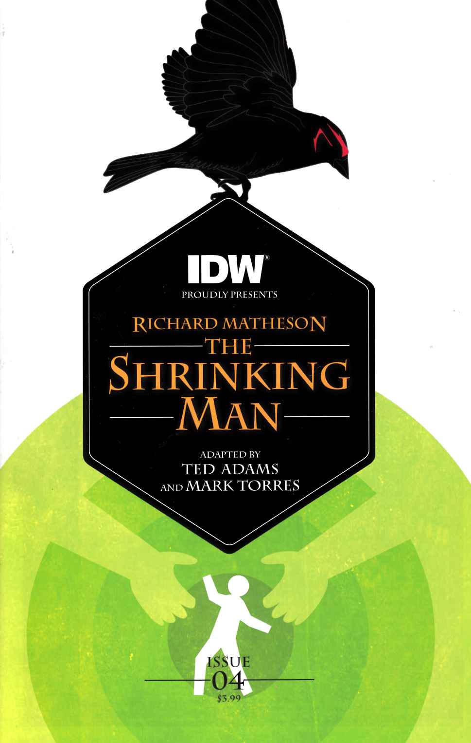 Shrinking Man #4 [IDW Comic]