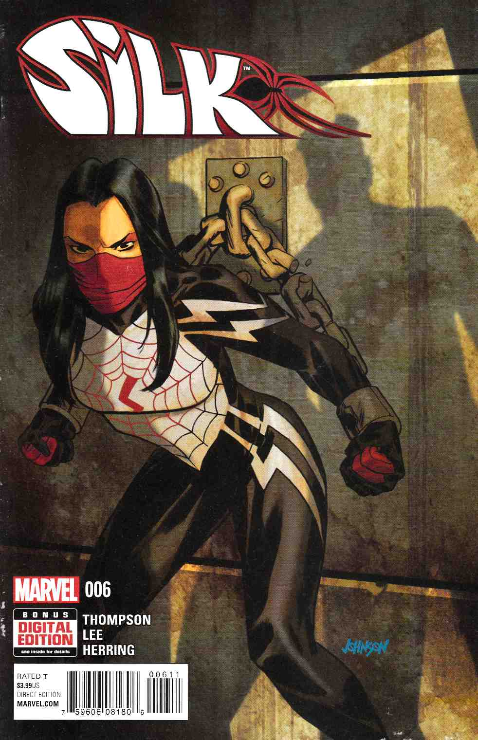 Silk #6 [Marvel Comic] THUMBNAIL