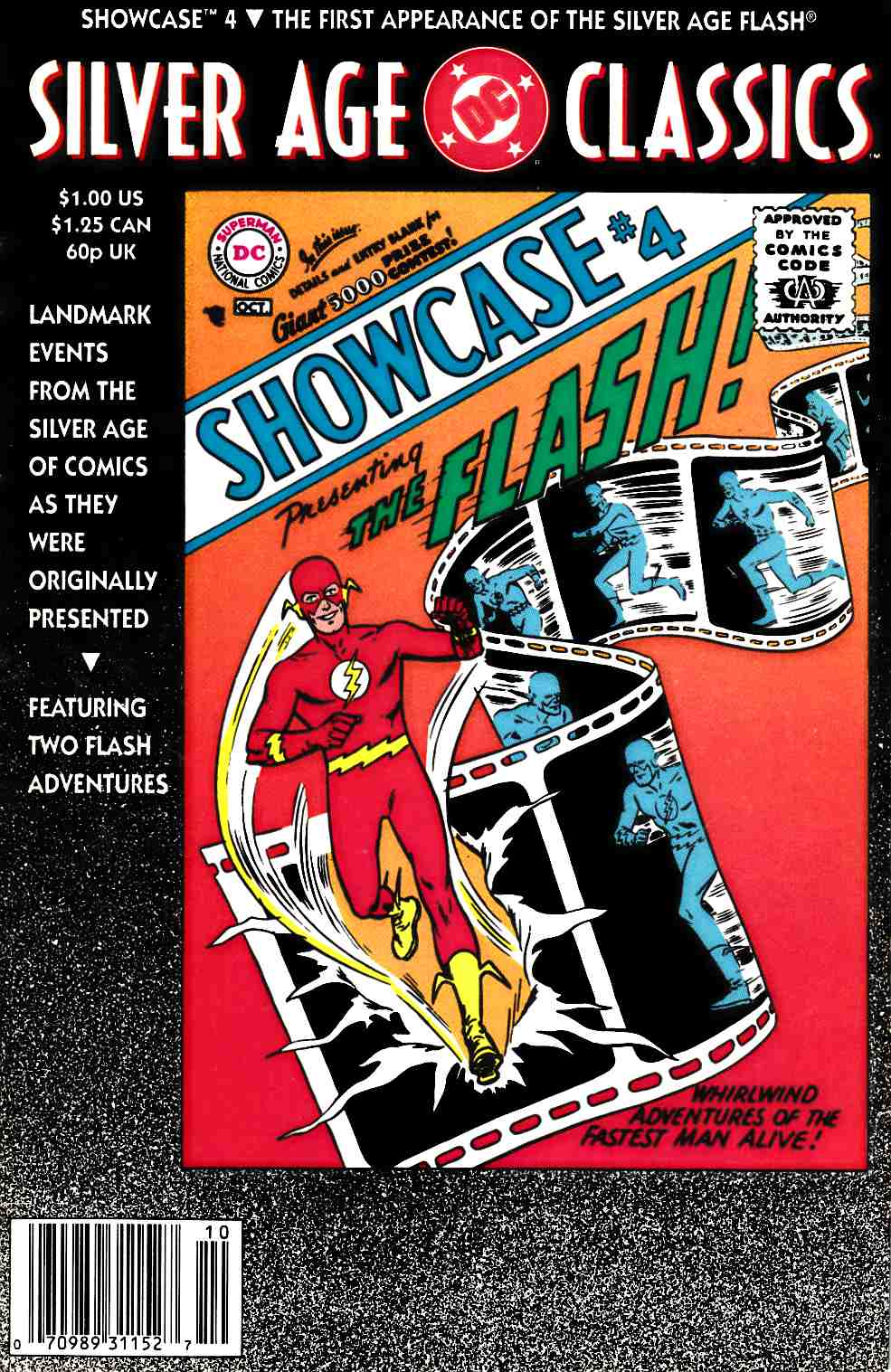 DC Silver Age Classics Showcase #4 Fine Plus (6.5) [DC Comic]_LARGE