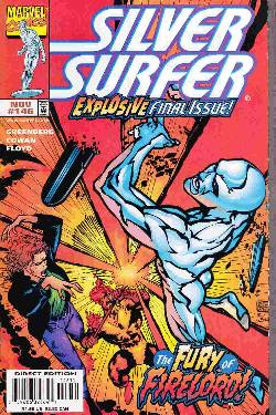 Silver Surfer #146 Near Mint (9.4) [Marvel Comic]
