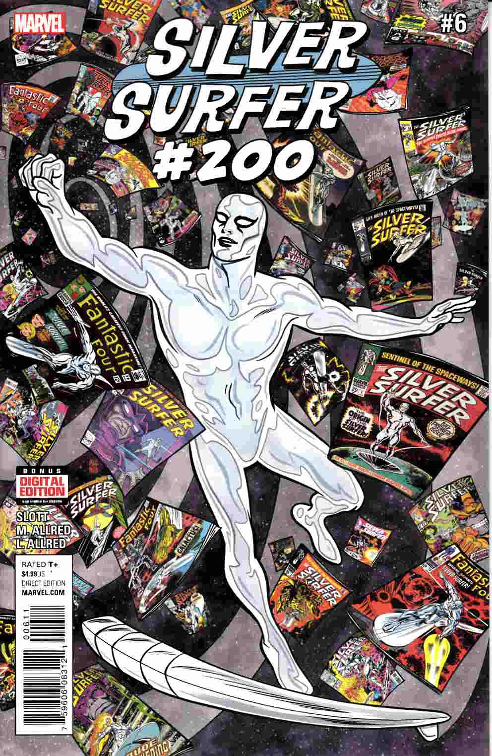 Silver Surfer #6 [Marvel Comic] LARGE