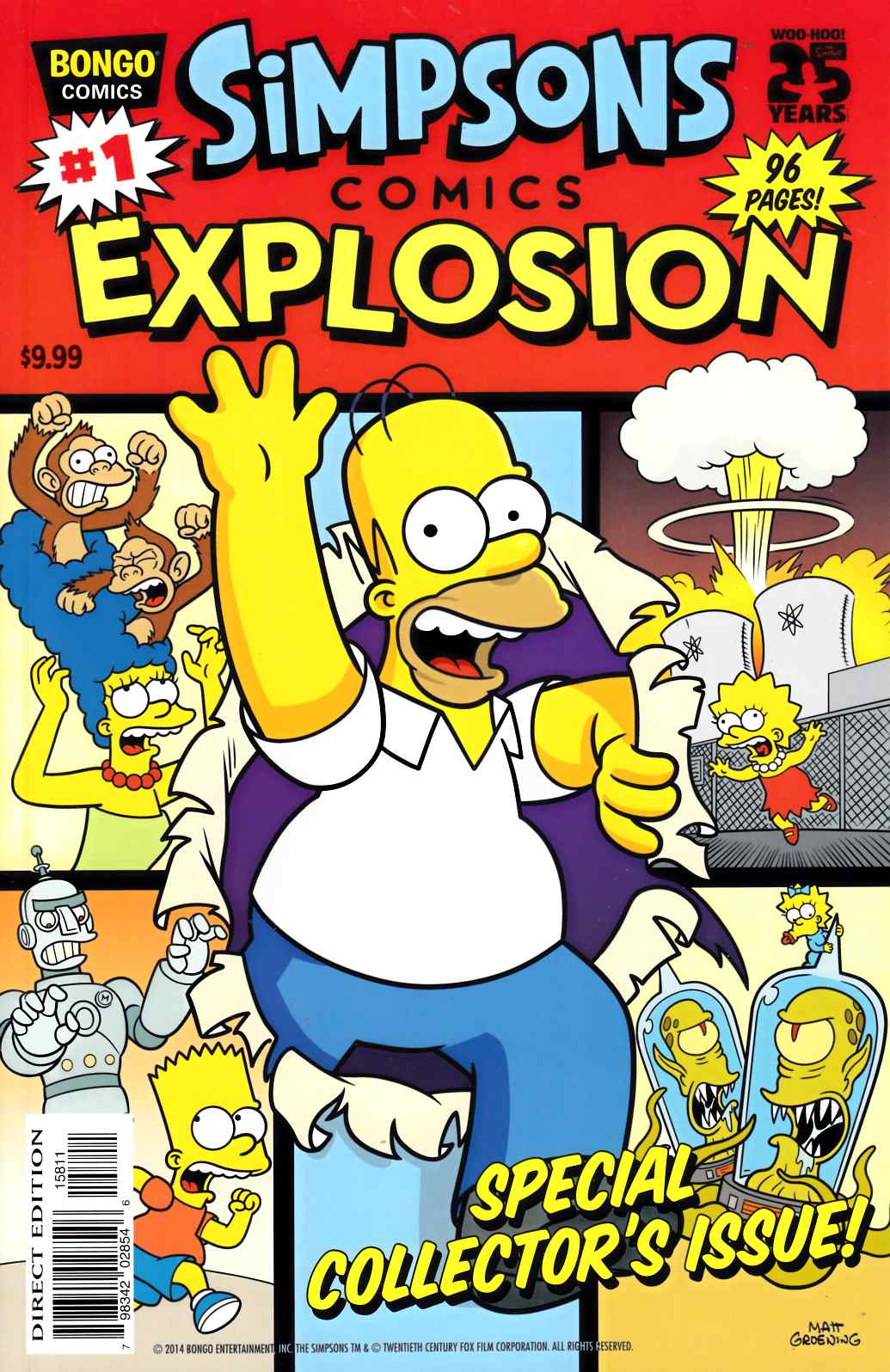 Simpsons Comics Explosion #1 [Bongo Comic] THUMBNAIL