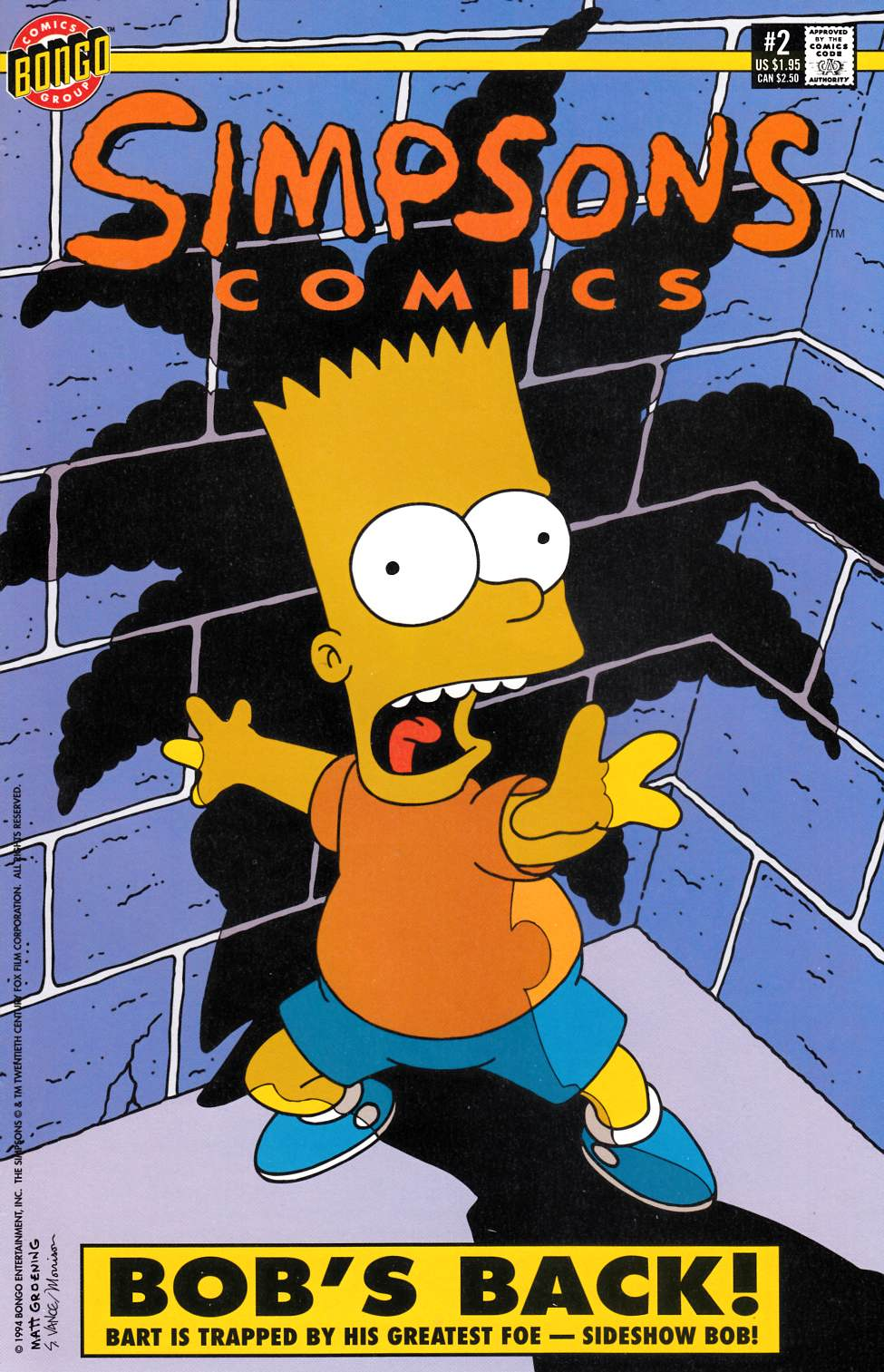 Simpsons Comics #2 [Bongo Comic] THUMBNAIL