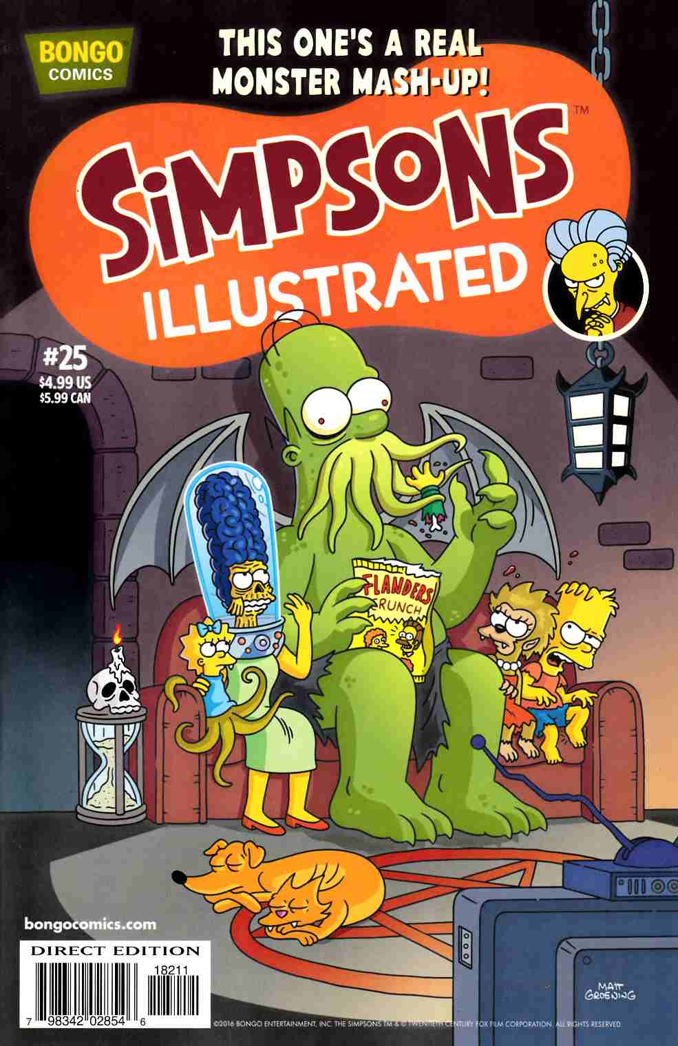 Simpsons Illustrated #25 [Bongo Comic] LARGE