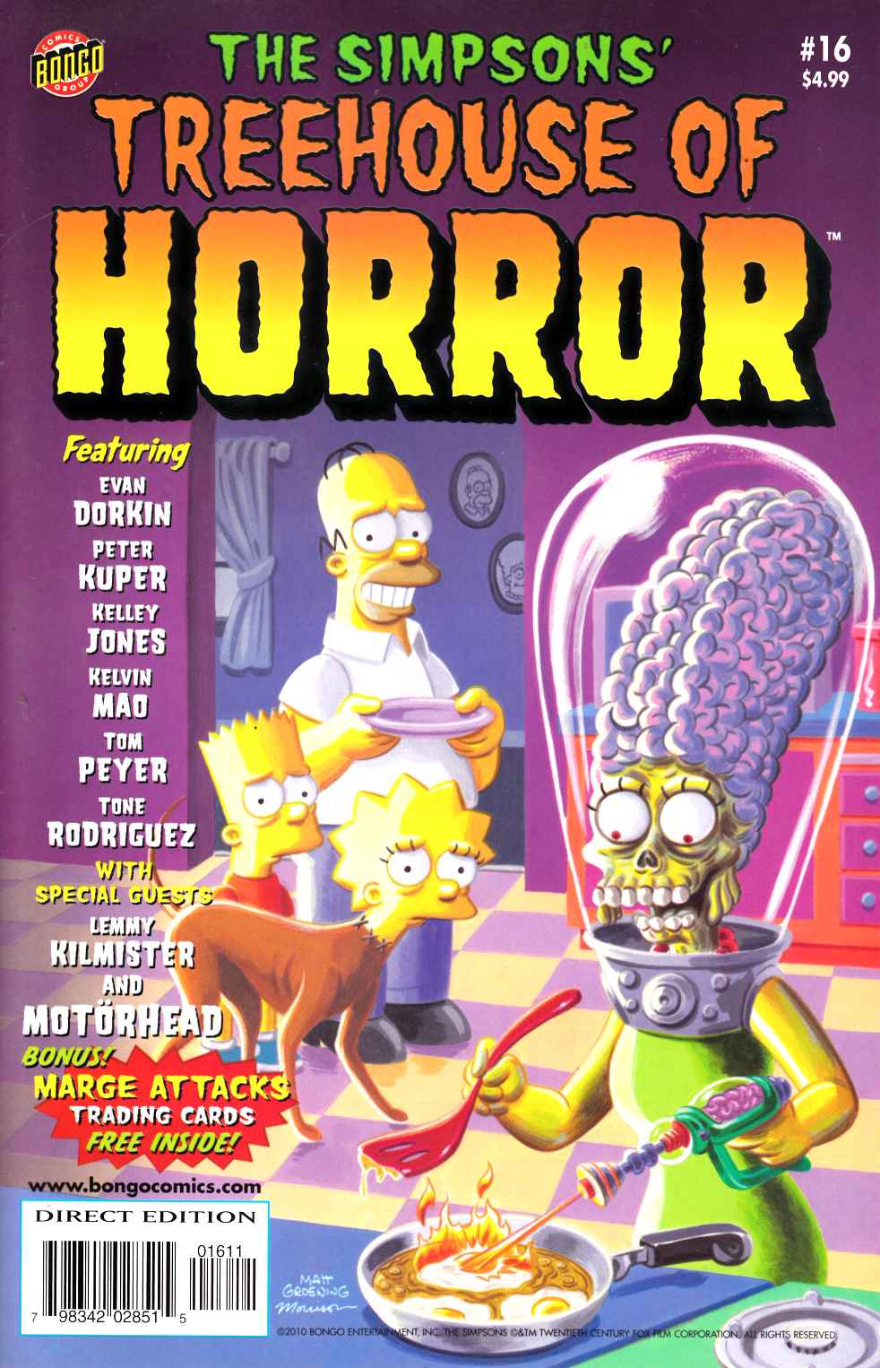 Simpsons Treehouse of Horror #16 Very Fine Plus (8.5) [Bongo Comic] THUMBNAIL
