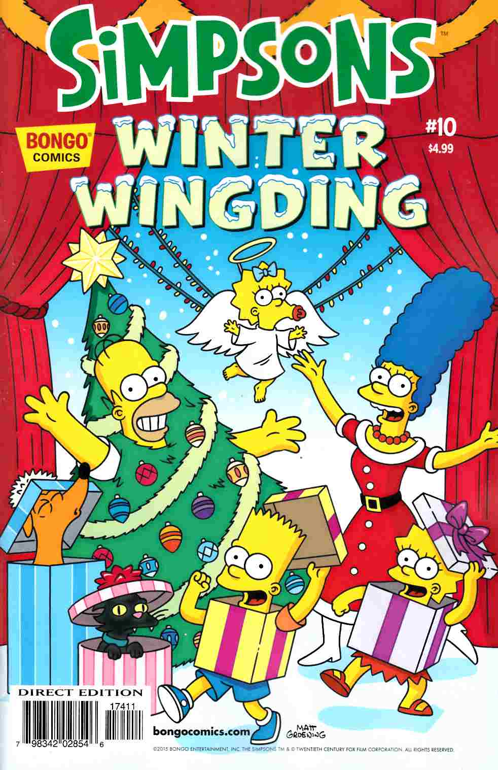 Simpsons Winter Wingding #10 [Bongo Comic] THUMBNAIL