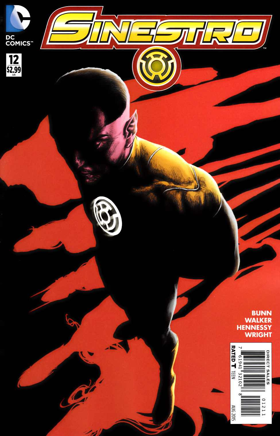 Sinestro #12 [DC Comic] LARGE
