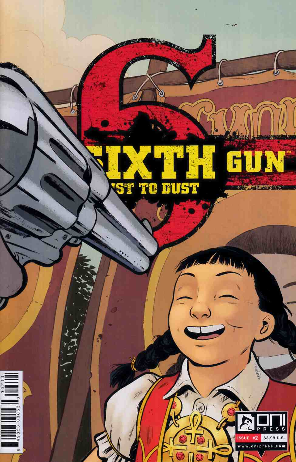 Sixth Gun Dust To Dust #2 [Oni Press Comic]
