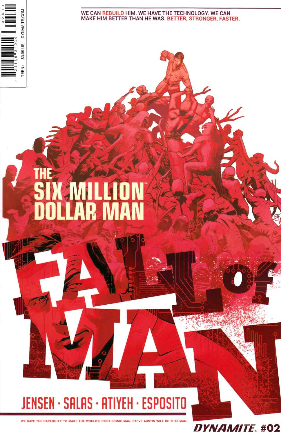 Six Million Dollar Man Fall #2 [Dynamite Comic] THUMBNAIL