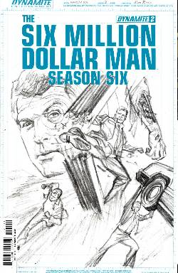 Six Million Dollar Man Season 6 #2 Ross Incentive Cover [Comic] LARGE